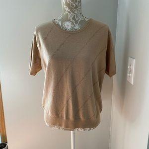 Neiman Marcus Vintage Tan Cashmere Sweater